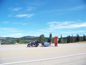 A great place to pray with foreign tourists on their way to Yellowstone Park