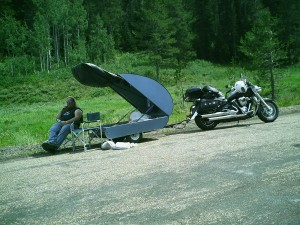 2007: Beautiful Idaho set up.